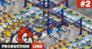 PRODUCTION LINE #2: Innovation durch Forschung! I Auto-Fabrik-Simulator deutsch