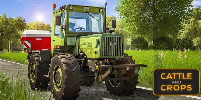 CATTLE AND CROPS: Gameplay-Trailer der Landwirtschafts-Simulation: Traktoren, Terrain und mehr!