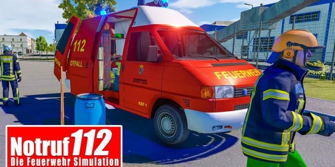 NOTRUF 112 #45: Einsatz fürs KEF: MIT DER KETTENSÄGE den AST absägen! I Feuerwehr-Simulation