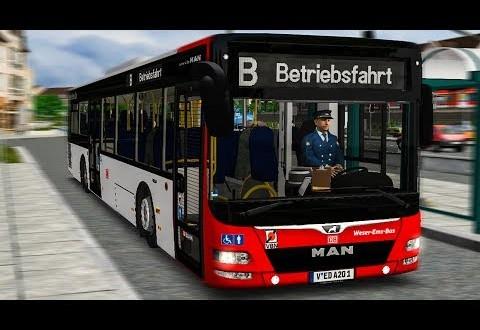 OMSI 2: Mit dem DB-BUS durch Steinkirchen! MAN A23