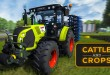 CATTLE AND CROPS: Gameplay-Eindrücke vom Claas Arion in der neuen Landwirtschafts-Simulation!