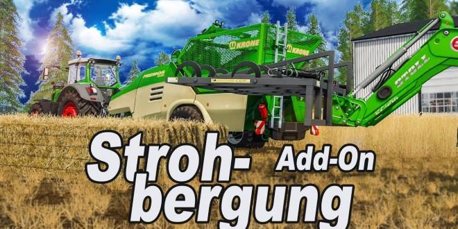 LS 17: STROHBERGUNG Add-On I Interview zum Landwirtschafts-Simulator 2017 DLC