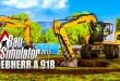 Bau-Simulator Deluxe-Edition – Der MOBILBAGGER LIEBHERR A 918! CONSTRUCTION SIMULATOR