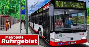 OMSI 2: Metropole Ruhrgebiet PREVIEW #2: Durch Industrielandschaften mit dem MB O530 Gelenkbus