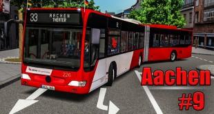OMSI 2: Aachen #9 mit Downloadpack KI-Menschen und Tour de France UPDATE!