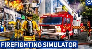 FIREFIGHTING SIMULATOR: Interview zur amerikanischen Feuerwehr-Simulation!