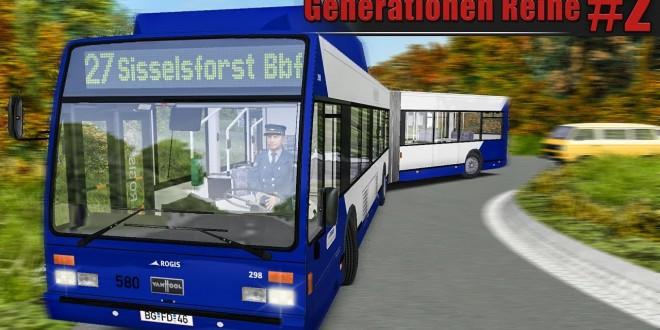 OMSI 2: VanHool AG300 CNG im Städtedreieck #2: Enge Kurve mit der VanHool Generationen-Reihe