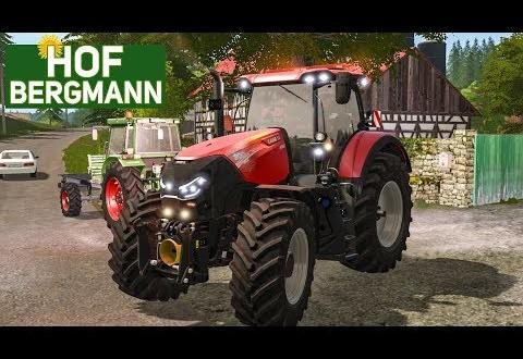 LS 17 HOF BERGMANN: Arbeiten auf dem eigenen Bauernhof! LANDWIRTSCHAFTS-SIMULATOR 17