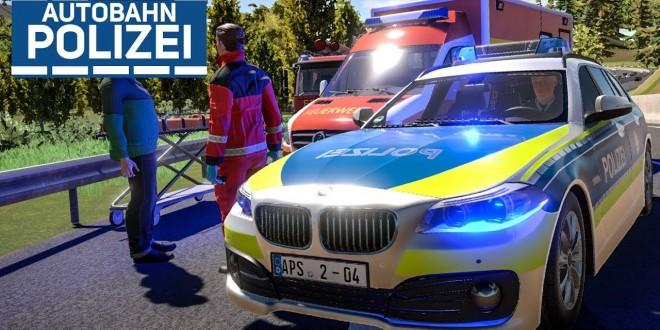 AUTOBAHNPOLIZEI-SIMULATOR 2: Unfall mit Feuerwehr und RTW! | PREVIEW #2 Autobahn Police Simulator 2