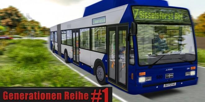 OMSI 2: VanHool AG300 CNG im Städtedreieck #1: Check der OMSI 2 Add-on VanHool Generationen-Reihe