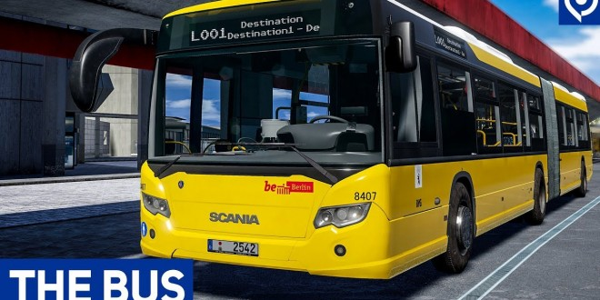 THE BUS: Interview und Gameplay zum Bus-Simulator aus Berlin mit SCANIA CITYWIDE!