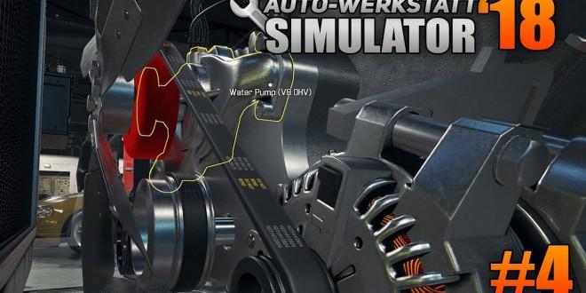 Auto-Werkstatt Simulator 2018 #4 – Hebebühne läuft!   CAR MECHANIC SIMULATOR 2018 deutsch
