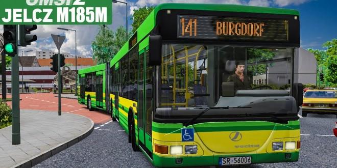 OMSI 2: JELCZ M185M in Winsenburg #1 – Diskussionen zu The Bus und LOTUS