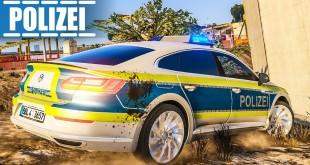 Verwirrte Frau auf BAUSTELLE! Polizei-Einsatz für den VW ARTEON| Achtung: POLIZEI #15 GTA V LSPDFR