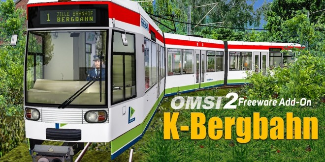 OMSI 2: K-Bergbahn – mit der Straßenbahn NF6D durch Zille im Sauerland!