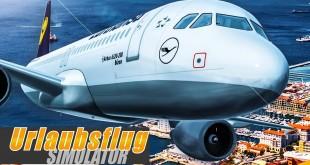 URLAUBSFLUG-SIMULATOR: Mit dem Lufthansa-A320 von Mallorca nach Paris!