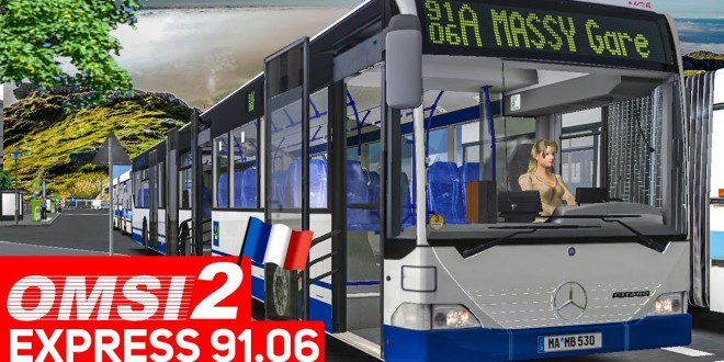 OMSI 2 Add-on Express 91.06 #2: Busfahrer-Stories im Mercedes GÜ! | Bus-Simulator