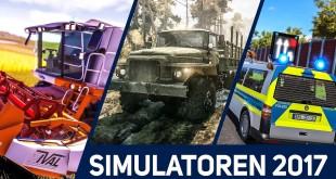 SIMULATOREN 2017: Diese 11 Simulationen kommen noch dieses Jahr! Polizei, Feuerwehr und mehr!