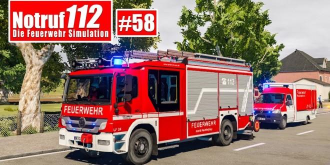 NOTRUF 112 #58: Firefighting Simulator eine große Konkurrenz? I Feuerwehr-Simulation