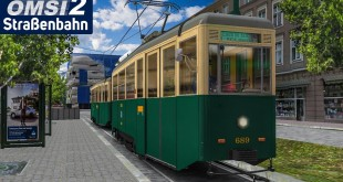 OMSI 2: Straßenbahn Konstal 4N auf der 25 in Poznan | Straßenbahn-Simulator