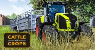 CATTLE AND CROPS #3: TIERHÄNDLER und Tierfütterung! | CnC Farming Simulation