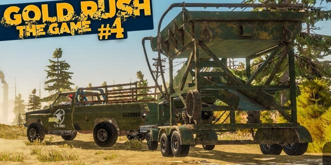 GOLD RUSH: The Game #4: Ein katastrophaler Bug mit Pickup und Anhänger!   GOLDGRÄBER SIMULATOR