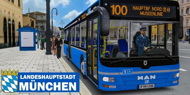 OMSI 2: Landeshauptstadt München #1 – MUSEENLINIE 100 mit dem MAN Lion's City A37 | BUS-SIMULATOR