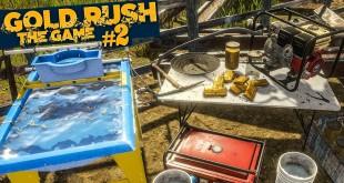 GOLD RUSH: The Game #2: Das Gold wird gewaschen! | GOLDGRÄBER SIMULATOR