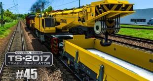 TRAIN SIMULATOR 2017 #45: Ein DB-KRANZUG an der Ludmilla BR 232 | DB Notfalltechnik