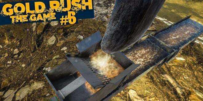 GOLD RUSH: The Game #6: Ausbau der Hog Pan mit Wasserpumpe! | GOLDGRÄBER SIMULATOR