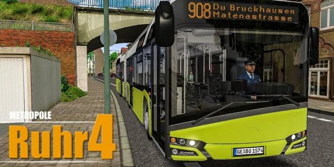 OMSI 2: Metropole Ruhr #4: Meine Meinung zur Map auf der Linie 908 nach Duisburg! | BUS-SIMULATOR