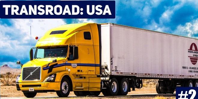 TRANSROAD: USA #2: Auftragskoordinierung für die LKW! LKW und Logistik Simulator Gameplay deutsch