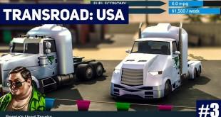 TRANSROAD: USA #3: Unpünktliche Lieferung! LKW und Logistik Simulator Gameplay deutsch