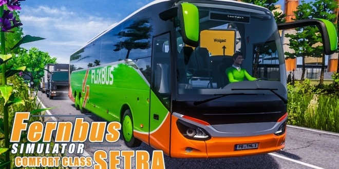 FERNBUS SIMULATOR Platinum #71 – Unterwegs mit der SETRA ComfortClass – Setra S519 HD