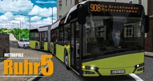OMSI 2: Metropole Ruhr #5: Lustiges auf der Linie 908 entdeckt! | BUS-SIMULATOR