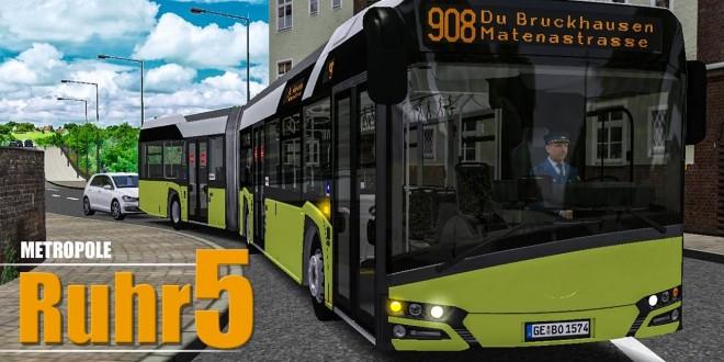 OMSI 2: Metropole Ruhr #5: Lustiges auf der Linie 908 entdeckt!   BUS-SIMULATOR