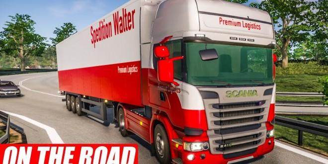 ON THE ROAD #10: Mit dem SCANIA R410 durch Deutschland! | LKW-Simulator OTR