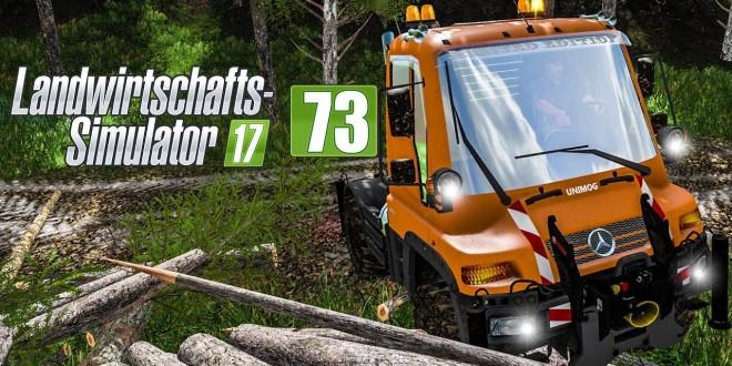 LS17 Forst #72 – Unimog im Einsatz für den Anhängertransport! I LANDWIRTSCHAFTS-SIMULATOR 17
