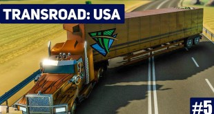 TRANSROAD: USA #5: Gnadenloses Spiel! LKW und Logistik Simulator Gameplay deutsch