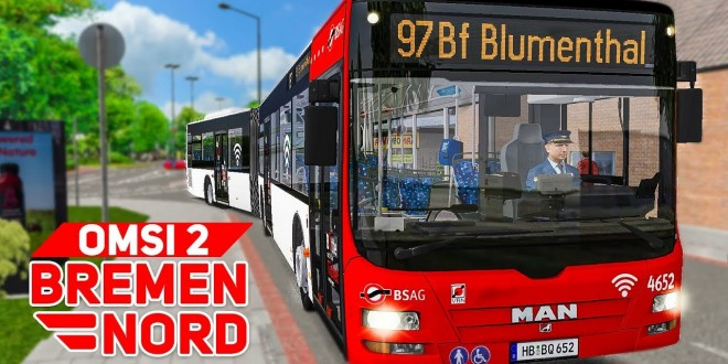 OMSI 2: BREMEN NORD #1: Mit dem MAN Lion's City A23 GL unterwegs auf der 97! | BUS-SIMULATOR