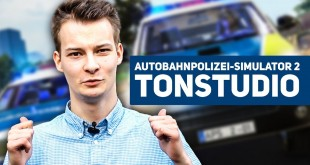 Im TONSTUDIO für den Autobahnpolizei-Simulator 2! | Making-Of vom POLIZEI-SIMULATOR