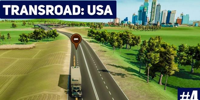 TRANSROAD: USA #4: Pleite und Crash! LKW und Logistik Simulator Gameplay deutsch