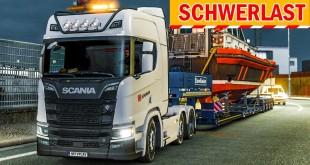 SCHIFF geladen – als SPEZIALTRANSPORT!   Euro Truck Simulator Special Transport DLC deutsch #3