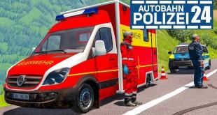 Schwerer Unfall durch LKW! AUTOBAHNPOLIZEI-SIMULATOR 2 #24   Autobahn Police Simulator 2 deutsch