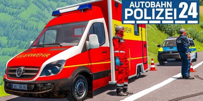 Schwerer Unfall durch LKW! AUTOBAHNPOLIZEI-SIMULATOR 2 #24 | Autobahn Police Simulator 2 deutsch