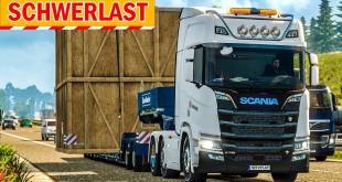 SPEZIALTRANSPORT mit XXL-Box!   Euro Truck Simulator Special Transport DLC deutsch #4