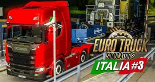 EURO TRUCK SIMULATOR 2: ITALIA! #3: Die Weiten Italiens! I ETS 2 Italien deutsch