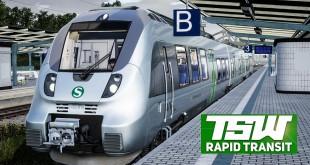 TRAIN SIM WORLD Rapid Transit #2: Mit der S-BAHN S2 durch den Citytunnel in Leipzig!    TSW deutsch