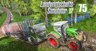 LS17 Forst #75 – Mit Schleppstange und 20 Anhängern durch den Wald! I LANDWIRTSCHAFTS-SIMULATOR 17