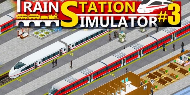 TRAIN STATION SIMULATOR #3: Mit U-Bahn-Station! | Bahnhof Simulator